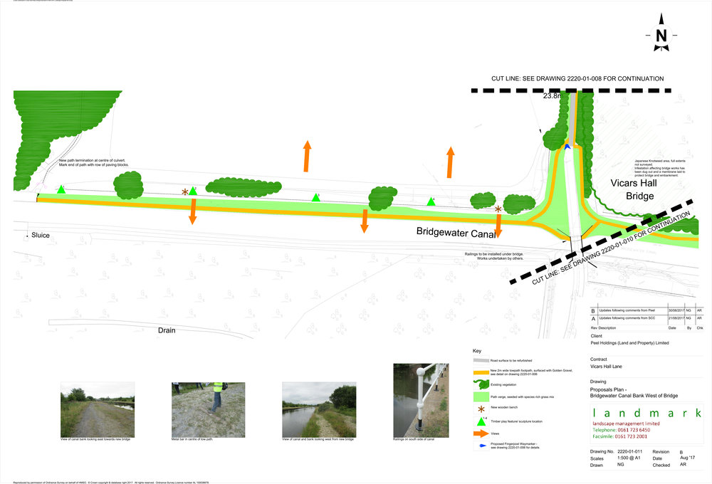 Canalside Path West Landscape Proposal
