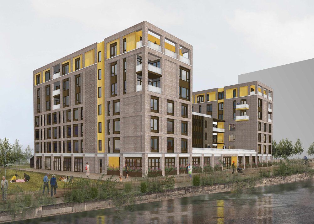 CGI of the Belong development at Wirral Waters
