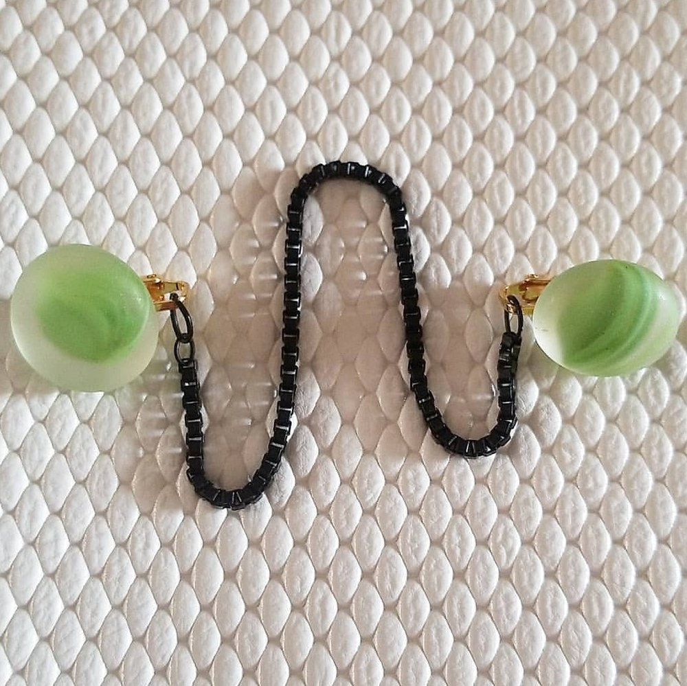 handmade sweater clips