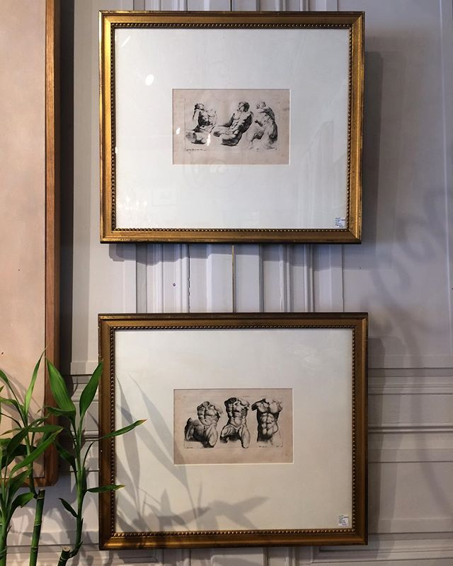Antique black and white classical engravings...#interiors #interiordesign #antique #blackandwhite #rogersandmcdaniel