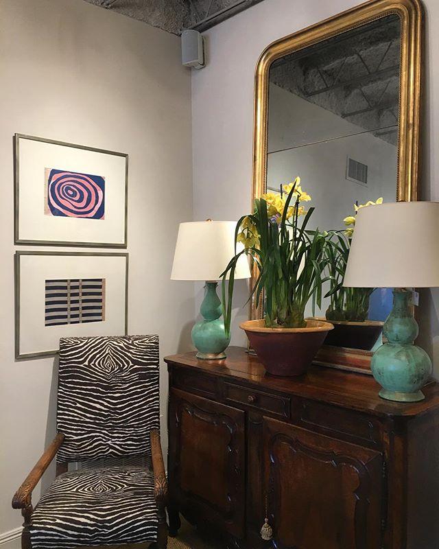 Loving this corner of the shop! #interiors #interiordesign #rogersandmcdaniel