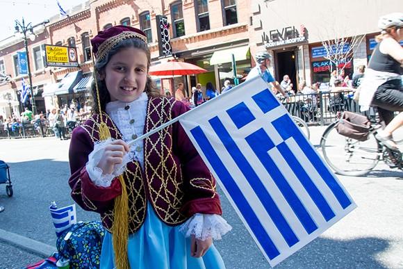 Detroit Greek Day Parade, Metro Times