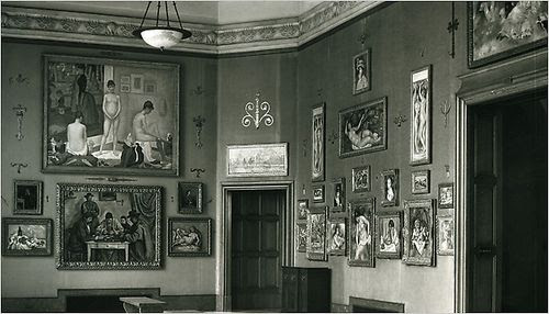 The Barnes Foundation Original Location.