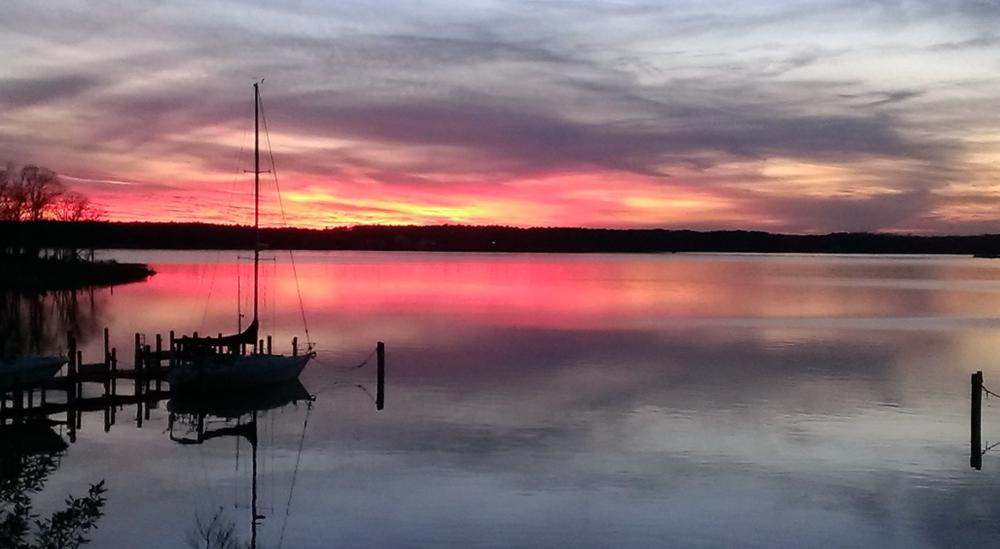 Kilmarnock , VA Sunset