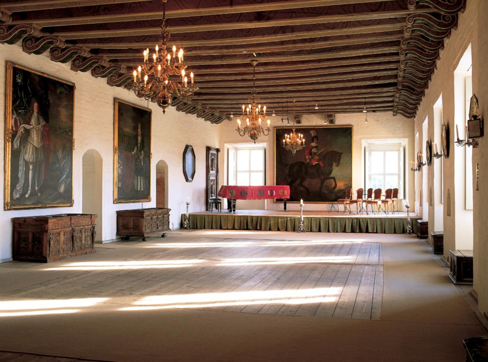 Axel Vervoordt Designed Ballroom
