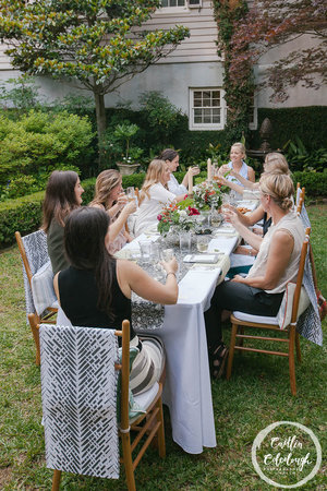 A garden party to celebrate Kathryn Maresca of Maresca Textiles