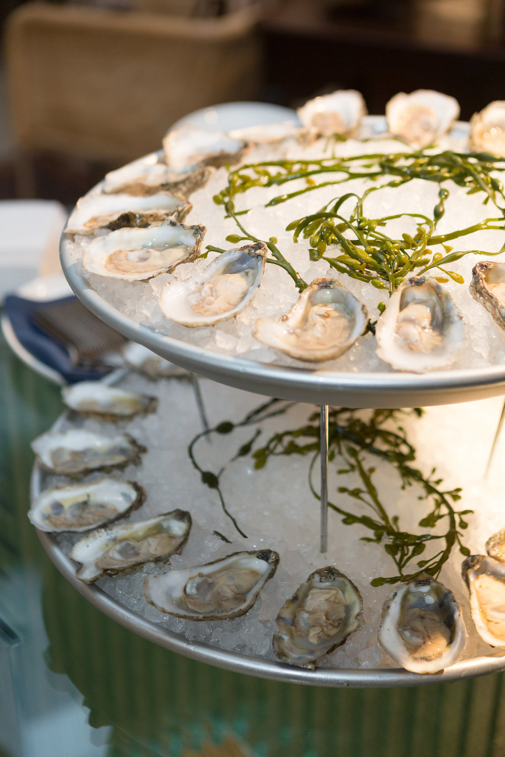Oysters & appetizers by our newest  Cigar Factory  neighbor, Rappahannock Oyster Company.