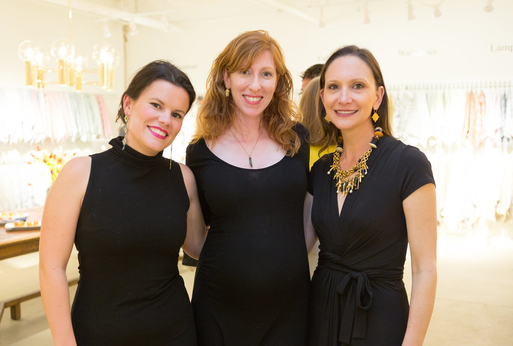 Textile trifecta with  Kathryn Maresca ,  Brook Peridgon  &  Marika Meyer !