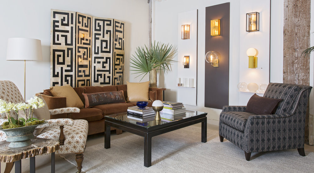 Custom Furniture, Textiles, Lighting. (Fritz Porter Protects Trade Pricing.)