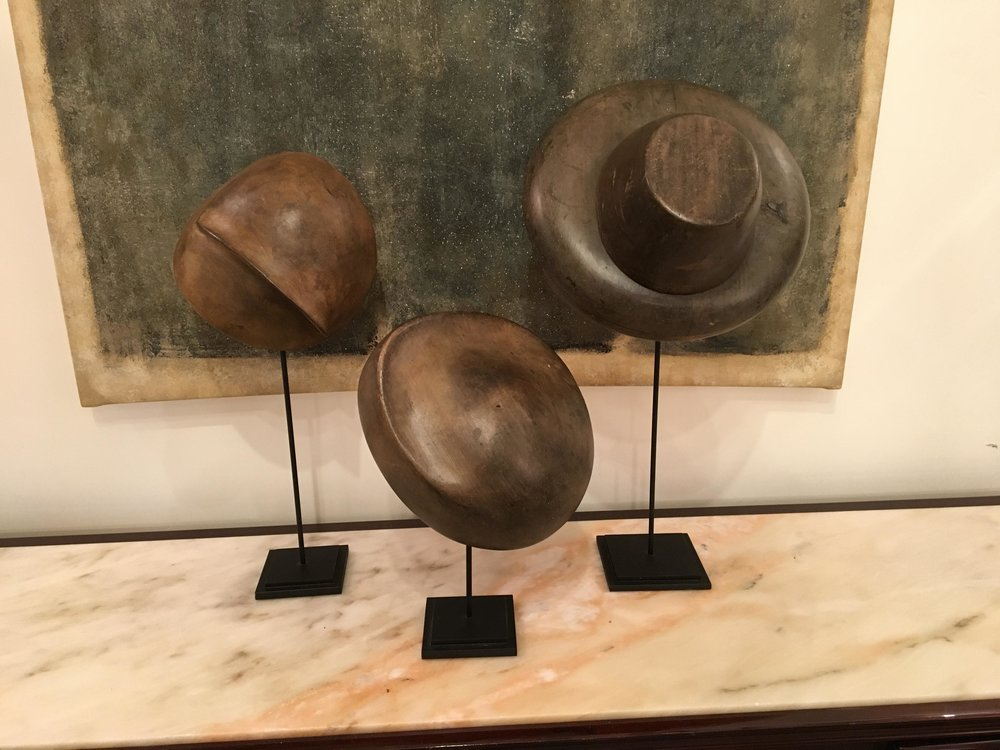 { shop french millinary hat molds }