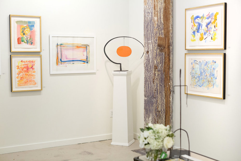 Quogue gallery + Fritz Porter