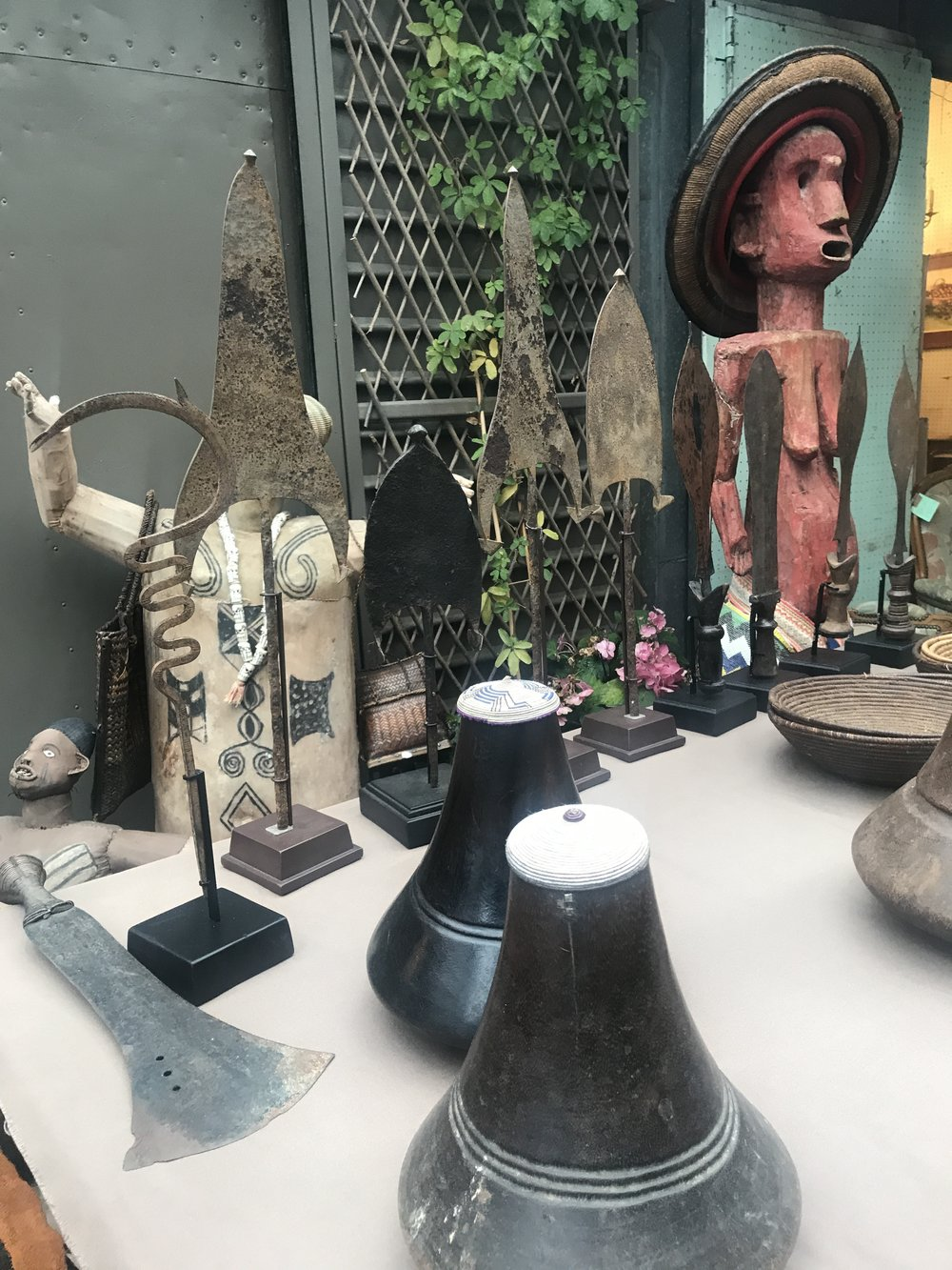 Some more native treasures at the Paris Flea