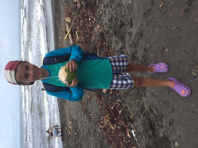 1st fresh coconut