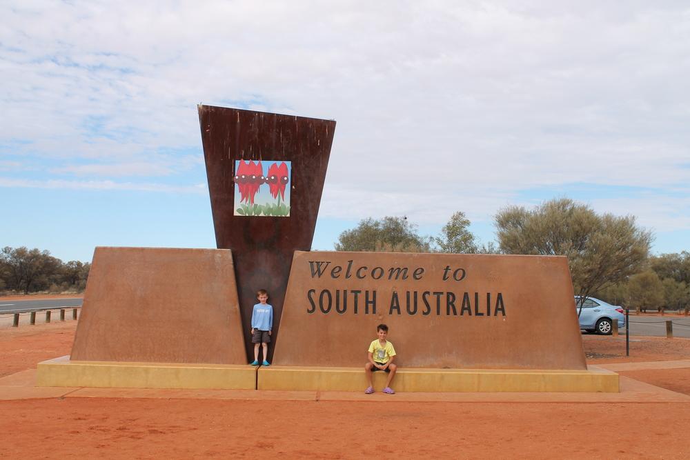 Entering South Australia.