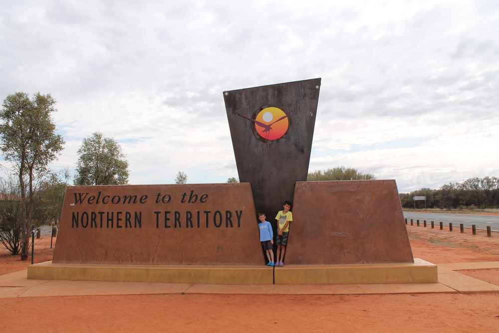 Leaving the Northern Territory