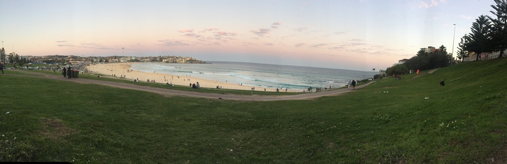 Pano of Bondi.