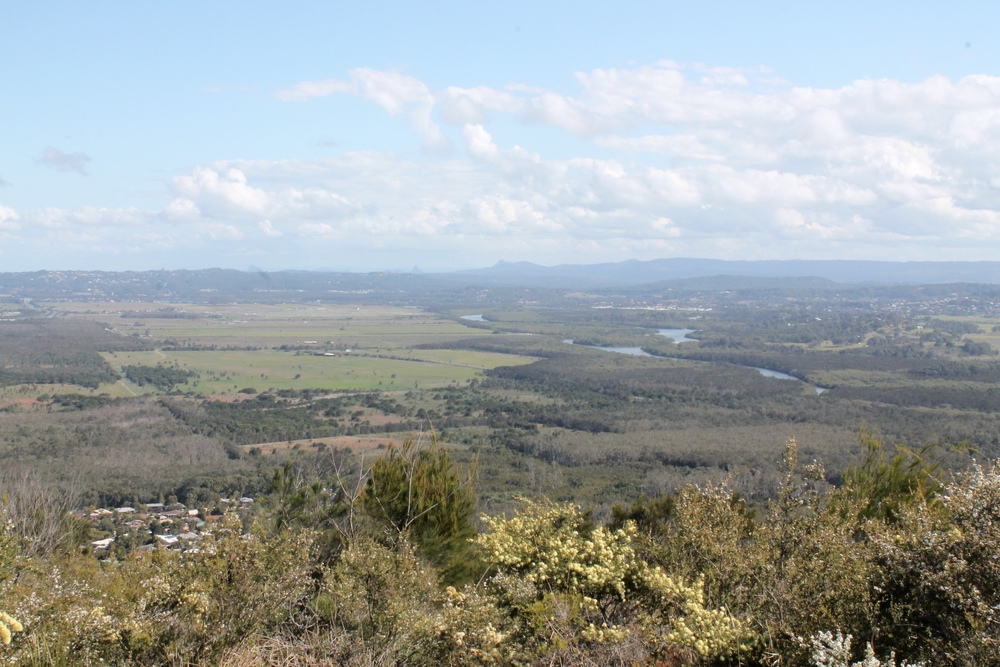 View from the top of Mount Coolum