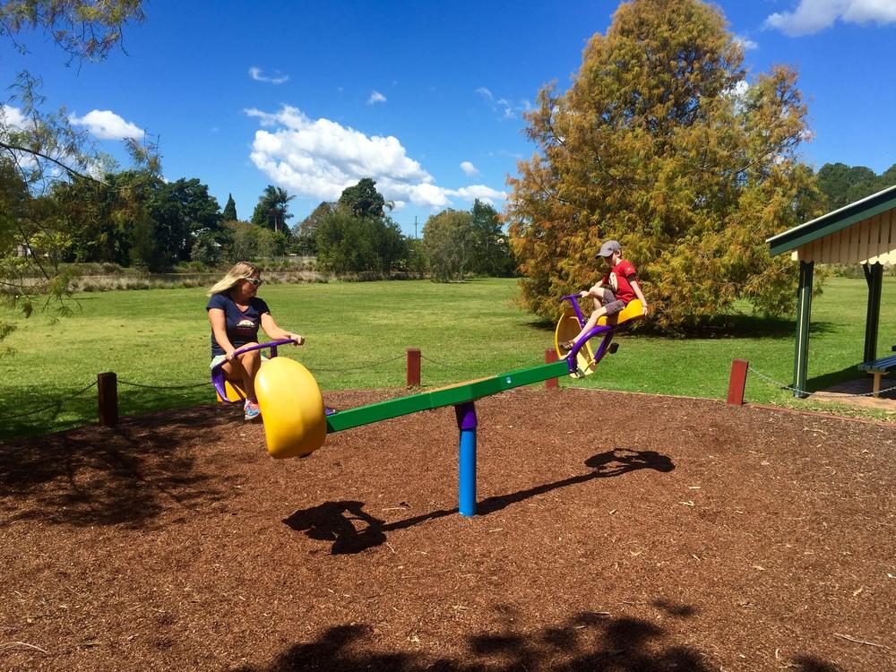 The best playground ride!