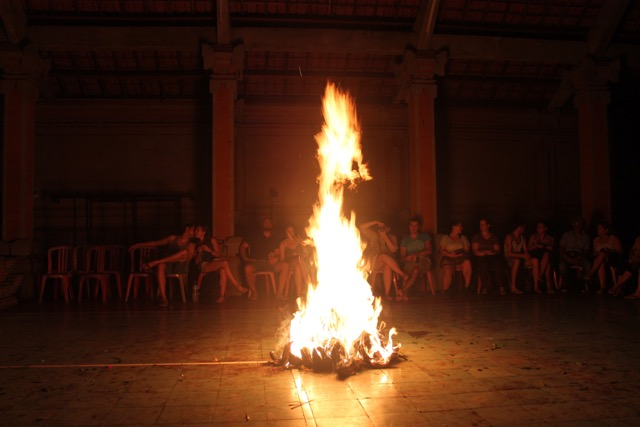 Kecak fire dance in Ubud