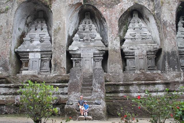 Gunong Kawi temple.