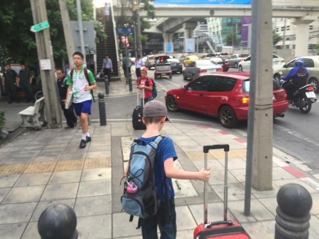 Lost (and hot) in Bangkok.