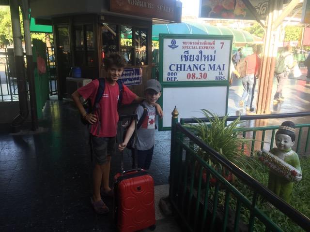 Train to Chang Mai.