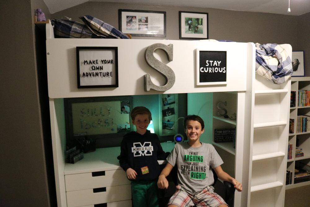 A new bedroom!