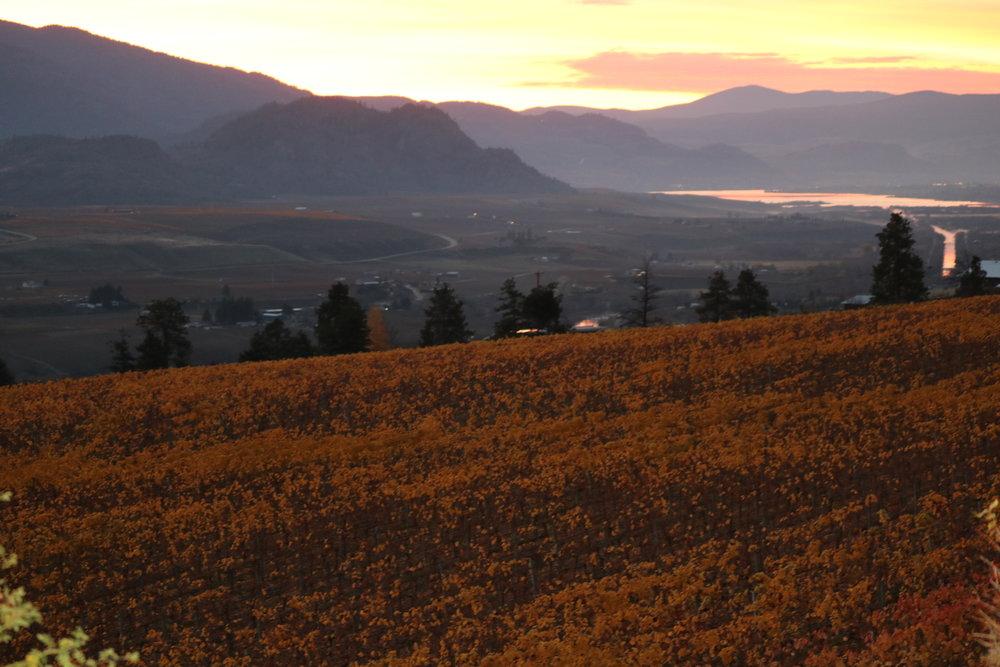 Okanagan valley.
