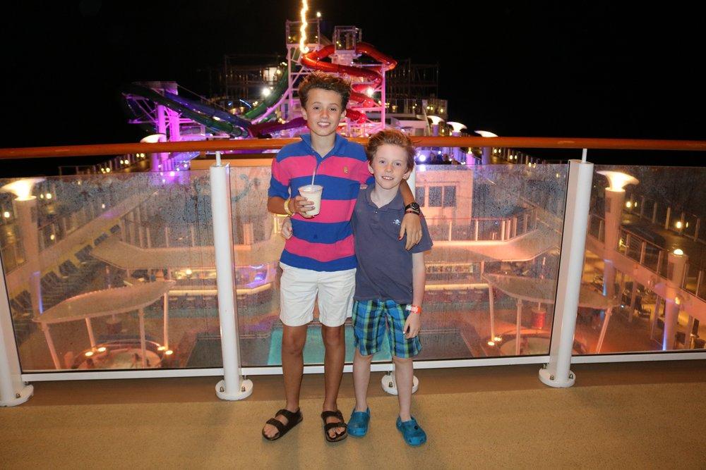 Last night onboard