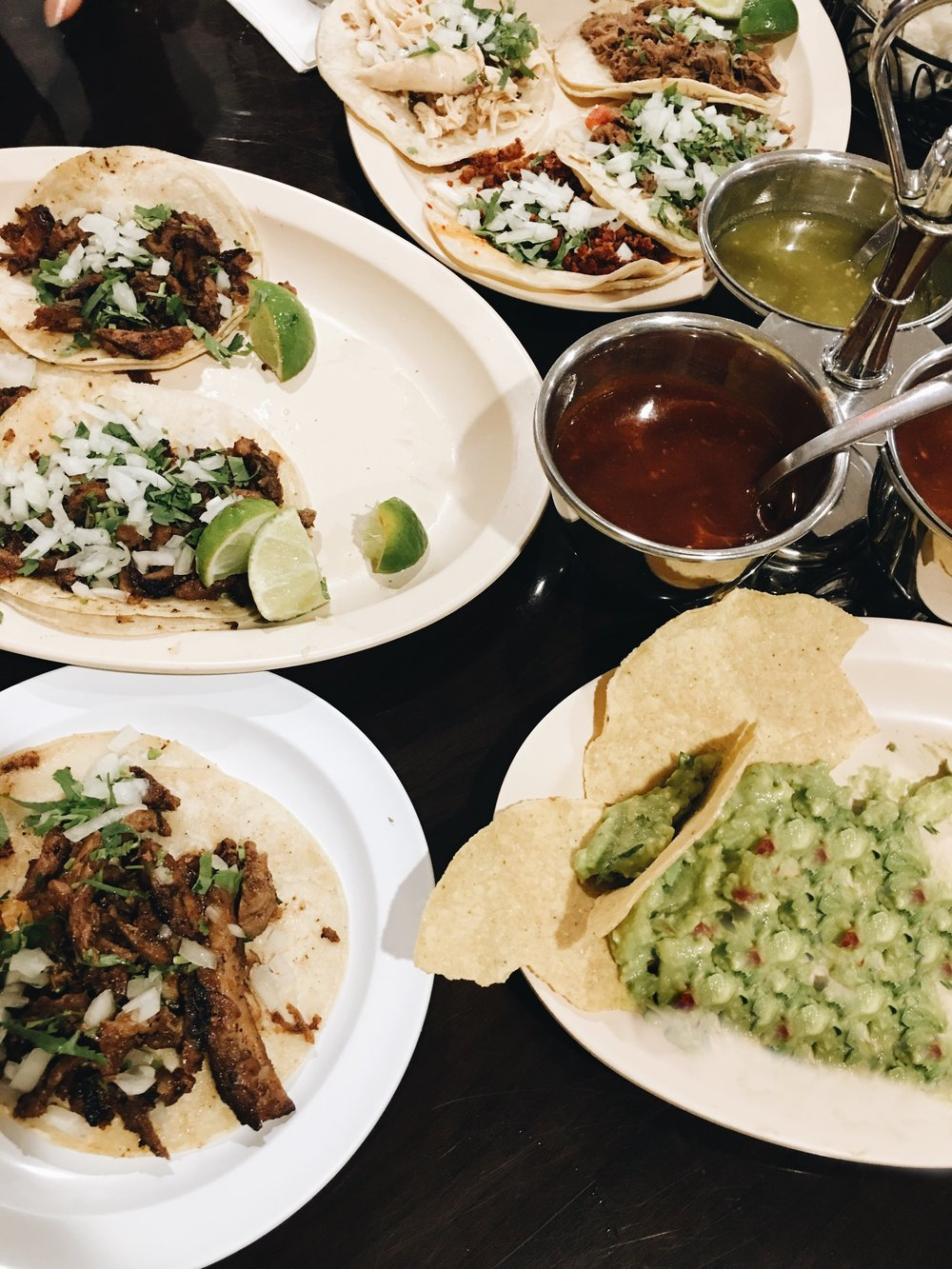 best. tacos ever. it's a little hole in the wall located on Bayview Drive called Taqueria San Julian. it's tiny, authentic and pure amazing. a must try.