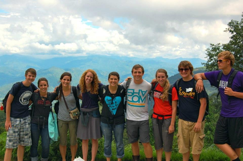 Emilee's Nepal Team in 2012.