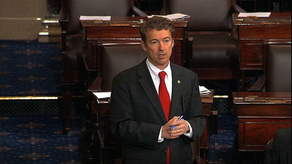 If Rand Paul can shut down the US government . . .  - Imagine Pope Francis, Pres. Obama and Mark Zuckerber leading an international filibuster for peace, one nation at a time, 196 days in a row.