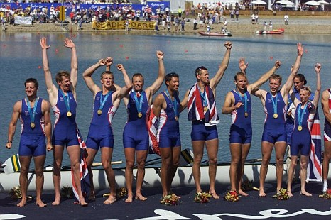 2000 Sydney Olympic Gold Medal Crew