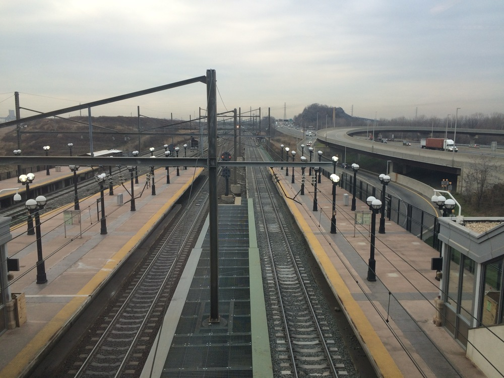 South-West view from Secaucus Junction