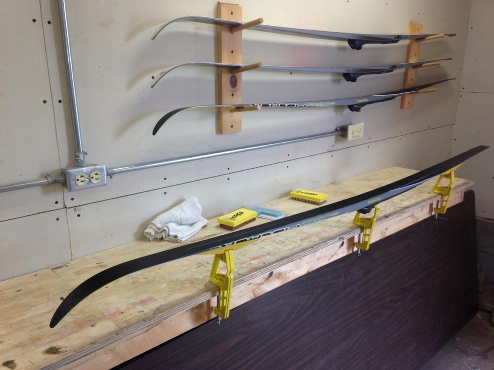 Heated Waxing Room