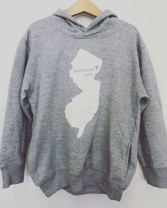 Montclair Sweatshirts are in just in time for fall! It's almost time to be nice and cozy ♥️ @meganleedesigns #sweatshirts #montclairsweatshirts #montclairlove #wegotyou #giftsforeveryone #thenutmontclair #meganleedesigns