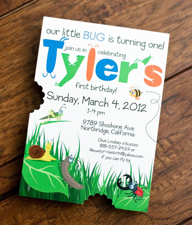 Tyler\'s 1st Birthday — Alex Tebow Designs