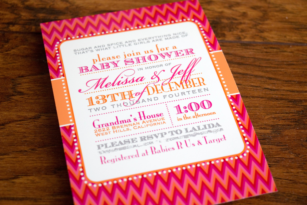 Melissa & Jeff\'s Baby Shower — Alex Tebow Designs