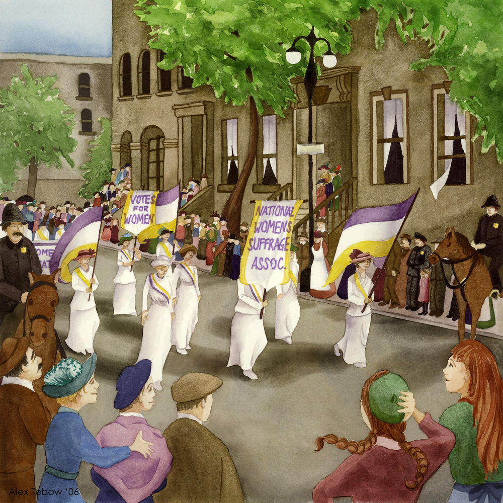 The Secret Life - Suffrage Parade