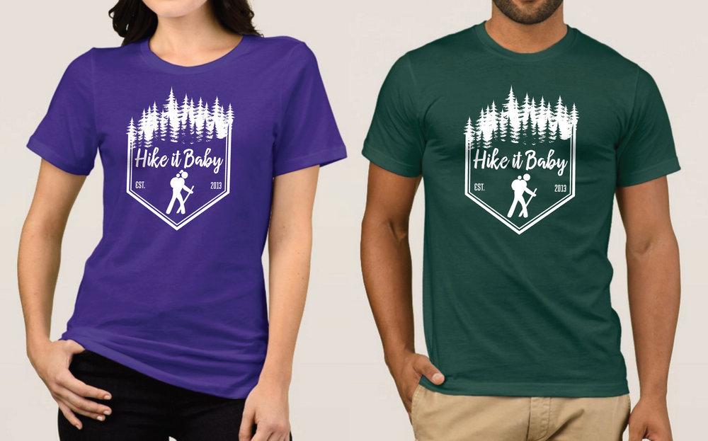 Hike it Baby Tee