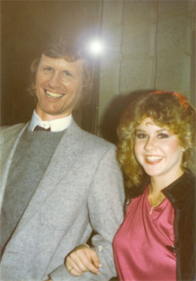 Brad Haga with LInda Blair.jpg