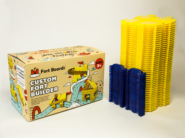 Fort Building Construction Toy