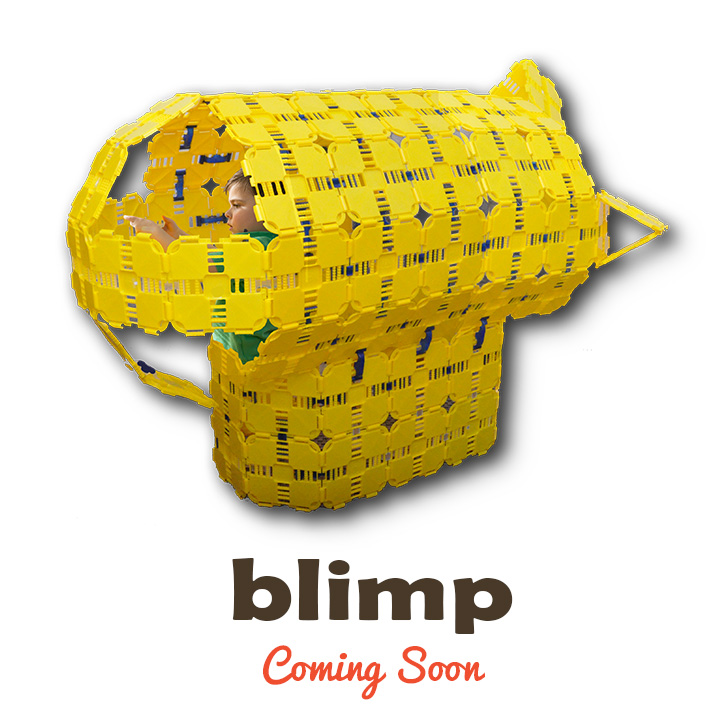 blimp kids play fort