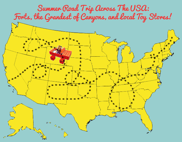 An Epic Summer Road Trip - With Bonus Stops at Local Toy Stores