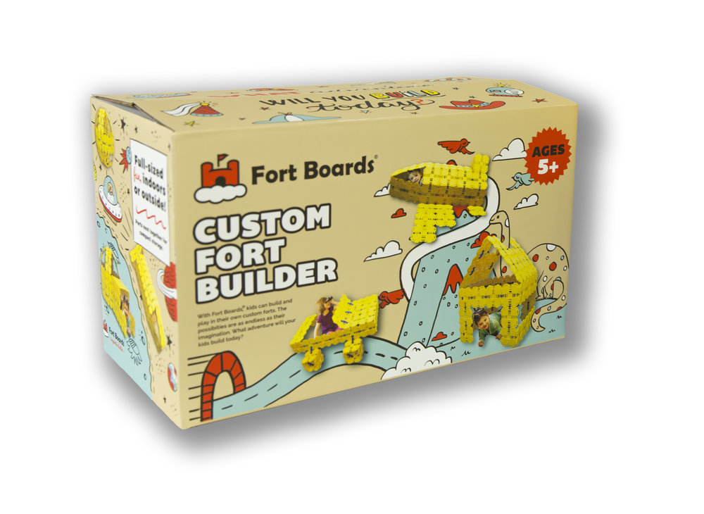 Fort Boards - Fort Building Kit