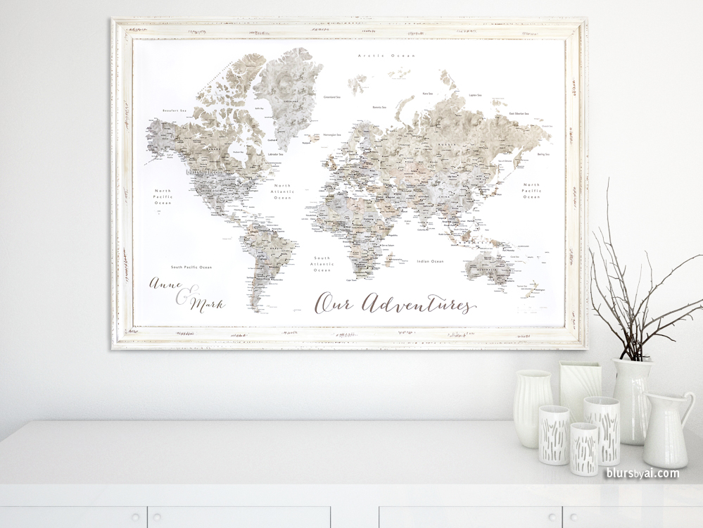 World Maps Details Page  Artisan