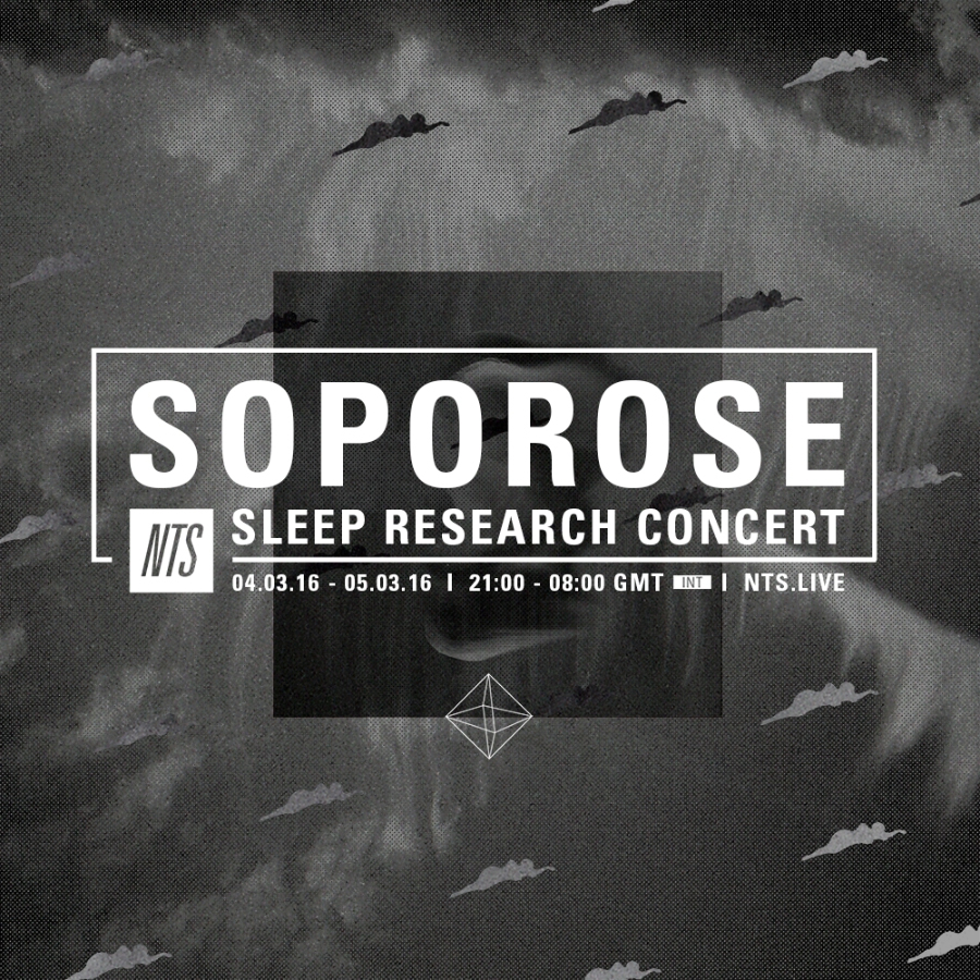 Tonight I'm taking part in Soporose sleep research concert. A sleep research experiment that explores altered listening states.   NTS Radio   will be streaming the event live from 00:00-08:00. Drift to sleep and wake with us.     http://www.nts.live