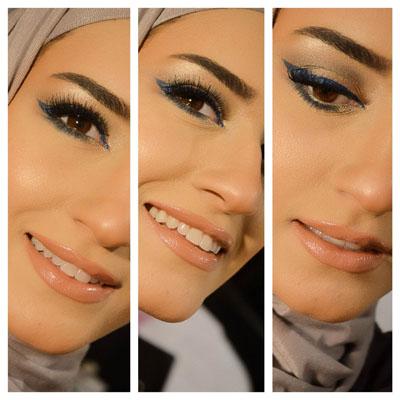 Makeup-blue