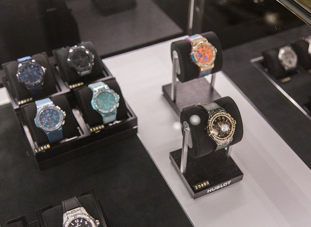 Hublot instore at Selfridges London