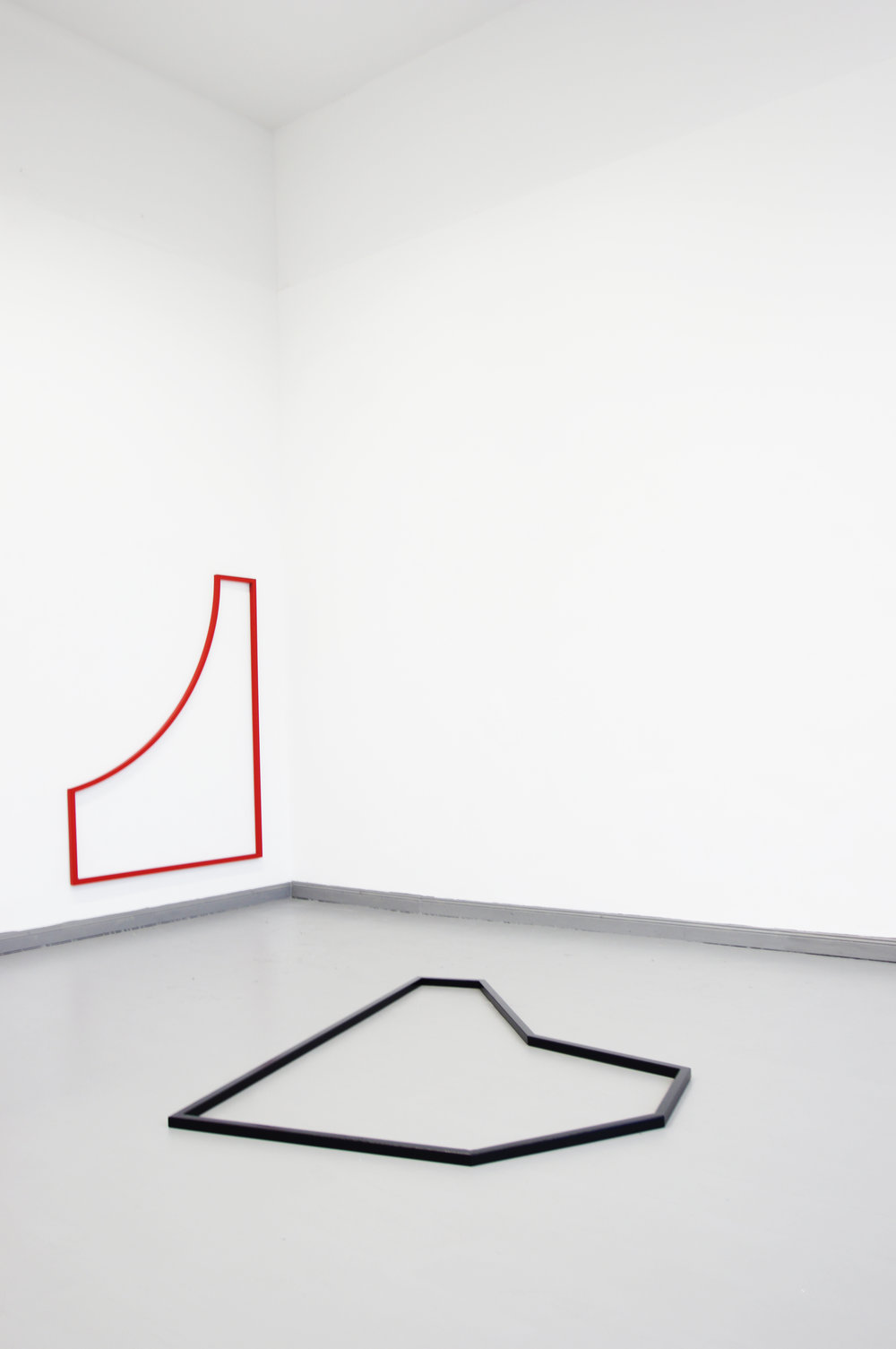 PLAYGROUND // Installation view  2015 // each 170cm x 130cm  steel and varnish